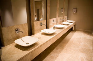 Custom Mirror Walls Commercial Bathroom Mirrors
