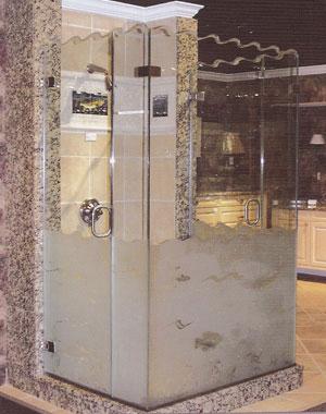 custom showers pro glass. Custom Frameless Glass Shower Doors Made Galveston Style  Pro Formance Mirror